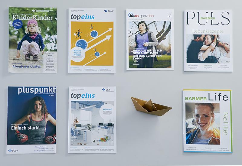 Uebersicht diverser Magazine