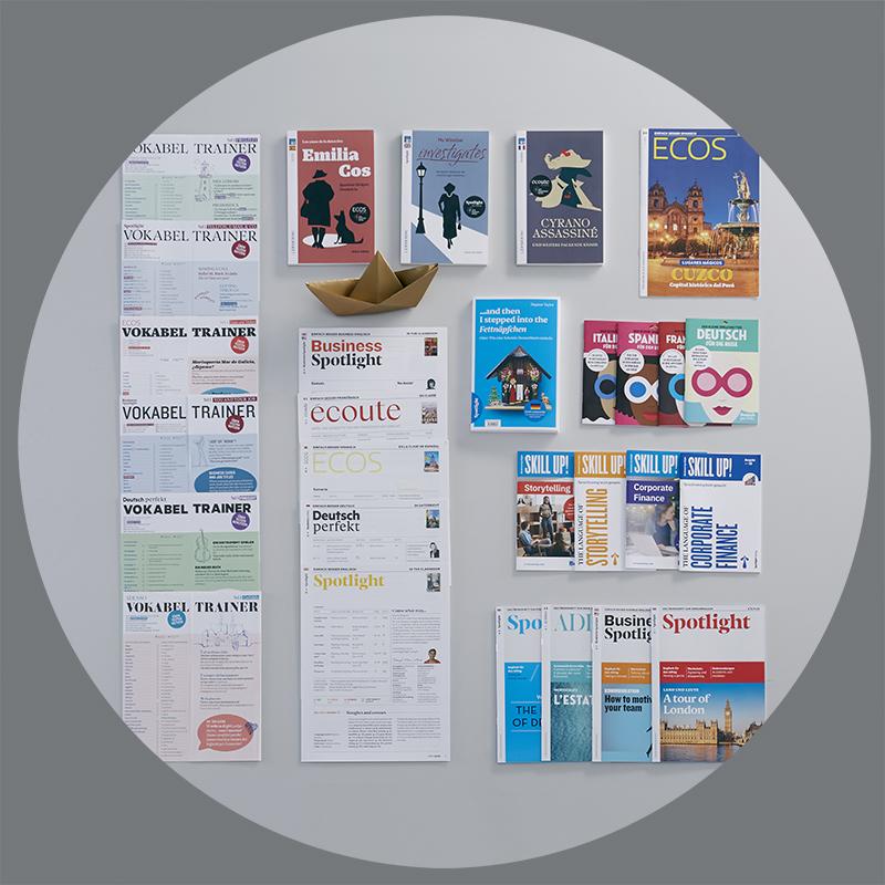 Uebersicht Case Spotlight Broschueren