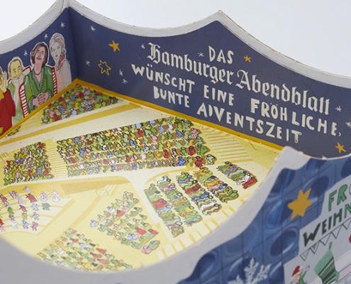 3D-Kalender Elbphilharmonie von oben